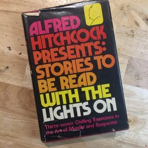 Vintage Alfred Hitchcock short stories hardback